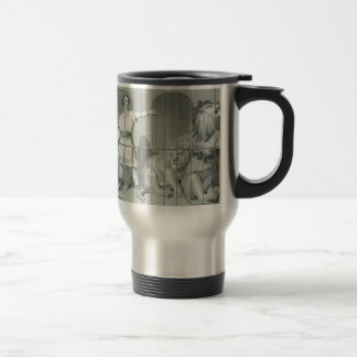 Van Amburgh and his big game cats by Edwin Henry Stainless Steel Travel Mug