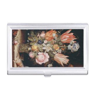 Van den Berghe's Flowers business card holders
