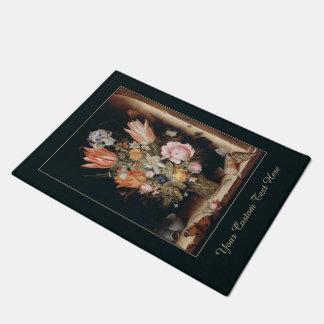 Van den Berghe's Flowers custom door mat
