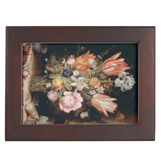 Van den Berghe's Flowers custom keepsake box