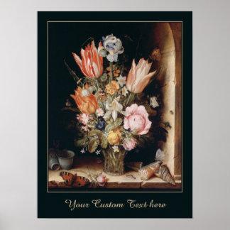 Van den Berghe's Flowers custom poster