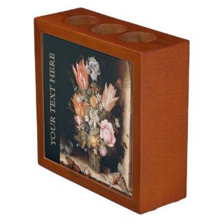 Van den Berghe's Flowers desk organizer