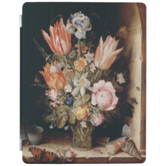 Van den Berghe's Flowers device covers iPad Cover
