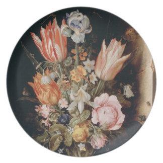 Van den Berghe's Flowers plate