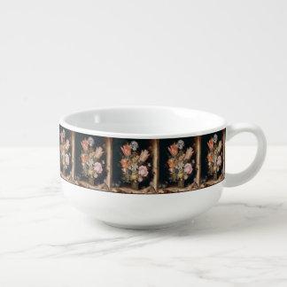 Van den Berghe's Flowers soup mug