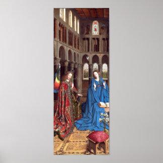 Van Eyck: The Annunciation Poster