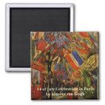 Van Gogh; 14th of July Celebration in Paris