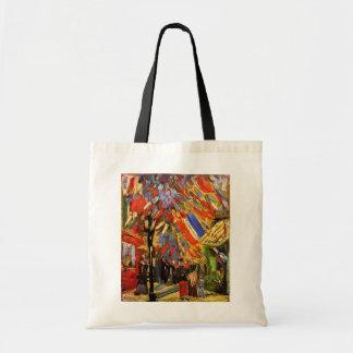 Van Gogh - 14th Of July Celebration In Paris Budget Tote Bag