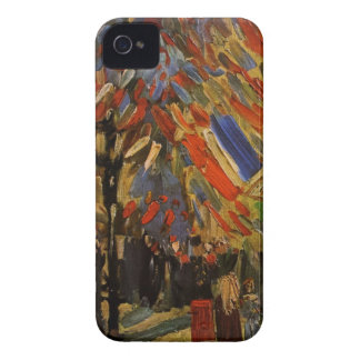 Van Gogh; 14th of July Celebration in Paris iPhone 4 Cases