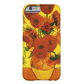 Van Gogh 15 Sunflowers Barely There iPhone 6 Case