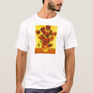 Van Gogh 15 Sunflowers T-Shirt