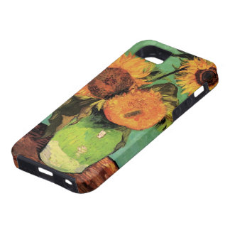 Van Gogh 3 Sunflowers in a Vase Vintage Fine Art Case For The iPhone 5