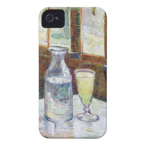 Van Gogh Absinthe Blackberry Case