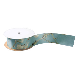 Van Gogh Almond blossom Satin Ribbon