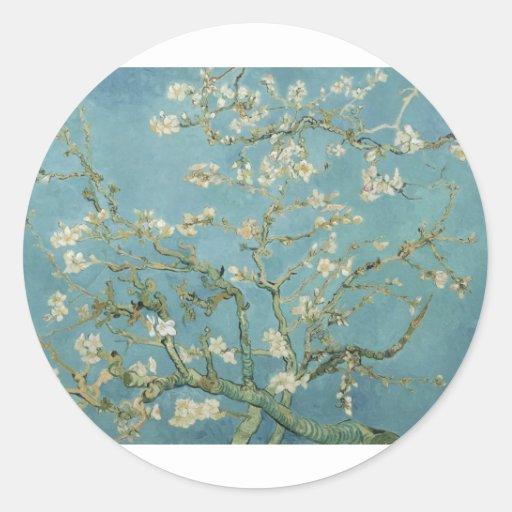 Van Gogh Almond Blossom Stickers