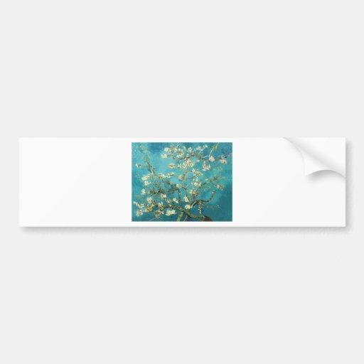 Van Gogh ~ Almond Blossoms ~ by Smacaroni Bumper Stickers
