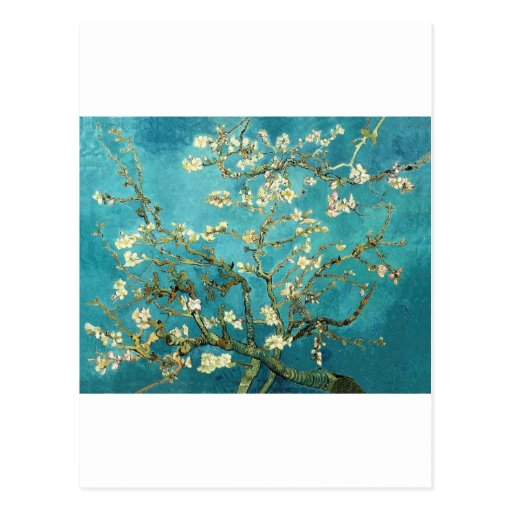 Van Gogh ~ Almond Blossoms ~ by Smacaroni Post Cards