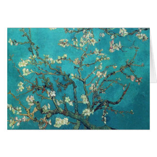 Van Gogh Almond Blossoms Note Card