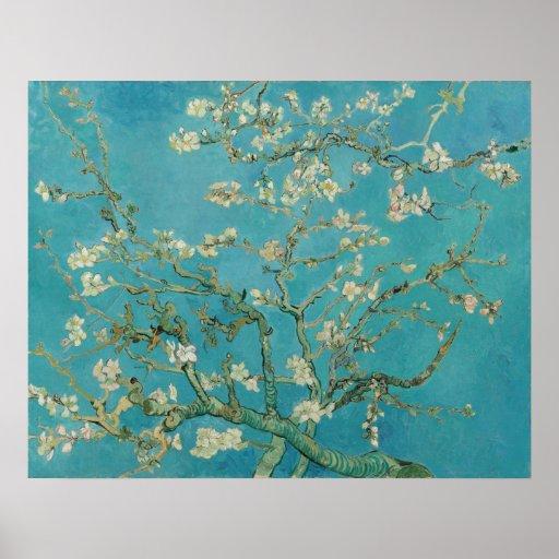 Van Gogh Almond Blossoms Poster