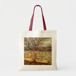 Van Gogh Apricot Tree in Blossom, Vintage Fine Art Tote Bag