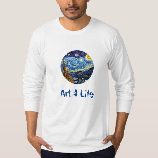 Van gogh Art For Life T-Shirt