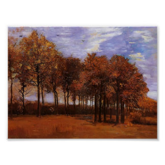 Van Gogh - Autumn Landscape Poster