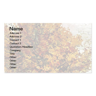 Van Gogh - Autumn Landscape With Four Trees Pack Of Standard Business Cards