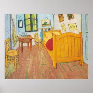 van Gogh - Bedroom in Arles (1889) Poster