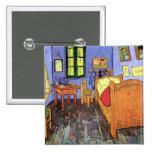 Van Gogh - Bedroom In Arles Badges