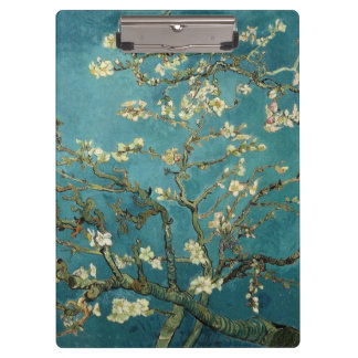 Van Gogh - Blossoming Almond Tree Clipboard