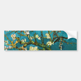 Van Gogh Blossoming Almond Tree (F671) Fine Art Bumper Sticker