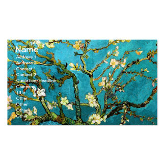 Van Gogh Blossoming Almond Tree (F671) Fine Art Business Card