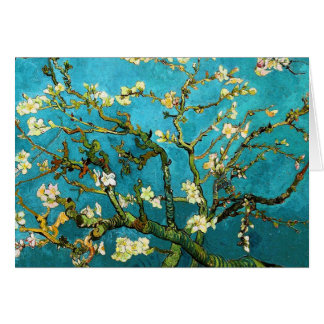 Van Gogh Blossoming Almond Tree (F671) Fine Art Card