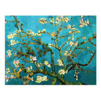 Van Gogh Blossoming Almond Tree (F671) Fine Art Postcard