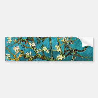 Van Gogh Blossoming Almond Tree Fine Art Bumper Sticker