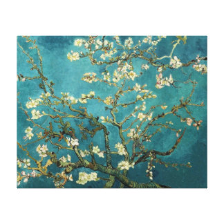 Van Gogh Blossoming Almond Tree Fine Art Canvas Print