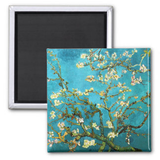Van Gogh Blossoming Almond Tree Fine Art Magnet