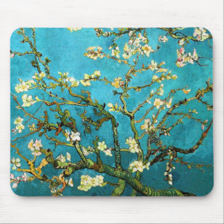 Van Gogh Blossoming Almond Tree Fine Art Mouse Mat