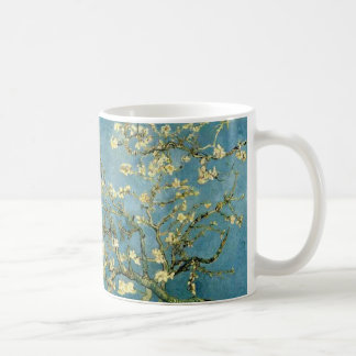 Van Gogh Blossoming Almond Tree Vintage Art Coffee Mug