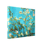 Van Gogh Blossoming Almond Tree Vintage Fine Art Gallery Wrapped Canvas