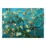 Van Gogh Blossoming Almond Tree Vintage Fine Art Greeting Card