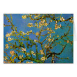 Van Gogh; Blossoming Almond Tree, Vintage Flowers Greeting Cards