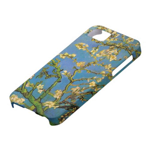 Van Gogh; Blossoming Almond Tree, Vintage Flowers iPhone 5 Cases
