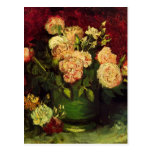 Van Gogh; Bowl with Peonies and Roses