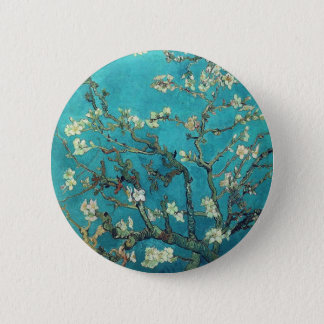 Van Gogh Branches With Almond Blossom Button