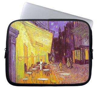Van Gogh Cafe Impressionist Painting Computer Sleeves
