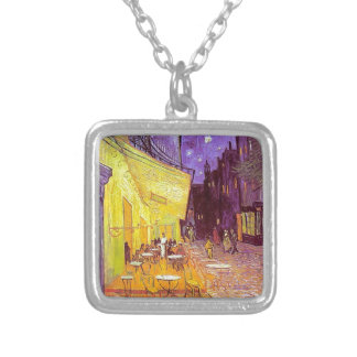Van Gogh Cafe Impressionist Painting Necklaces
