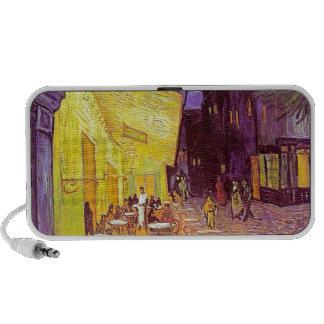 Van Gogh Cafe Impressionist Painting Mini Speaker
