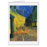 Van Gogh | Cafe Terrace at Night | 1888 Note Card