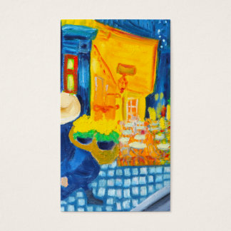 Van Gogh Cafe Terrace at Night Business Card
